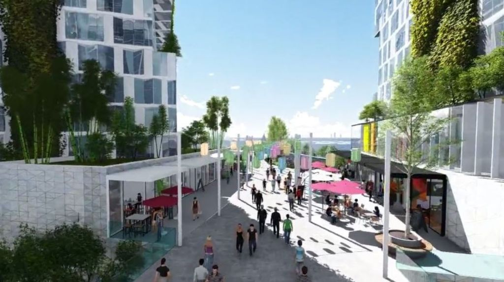 Plans for Rhodes East also include a new primary school, shops and cafes, community facilities and new pedestrian and cycling paths. Photo: Supplied