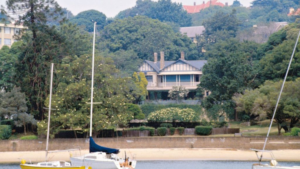 Lady (Mary) Fairfax's Point Piper estate Fairwater sits on about 8000 square metres.