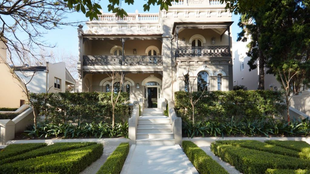 The Victorian Italianate residence Icilus sold for well in excess of $13 million. Photo: Supplied