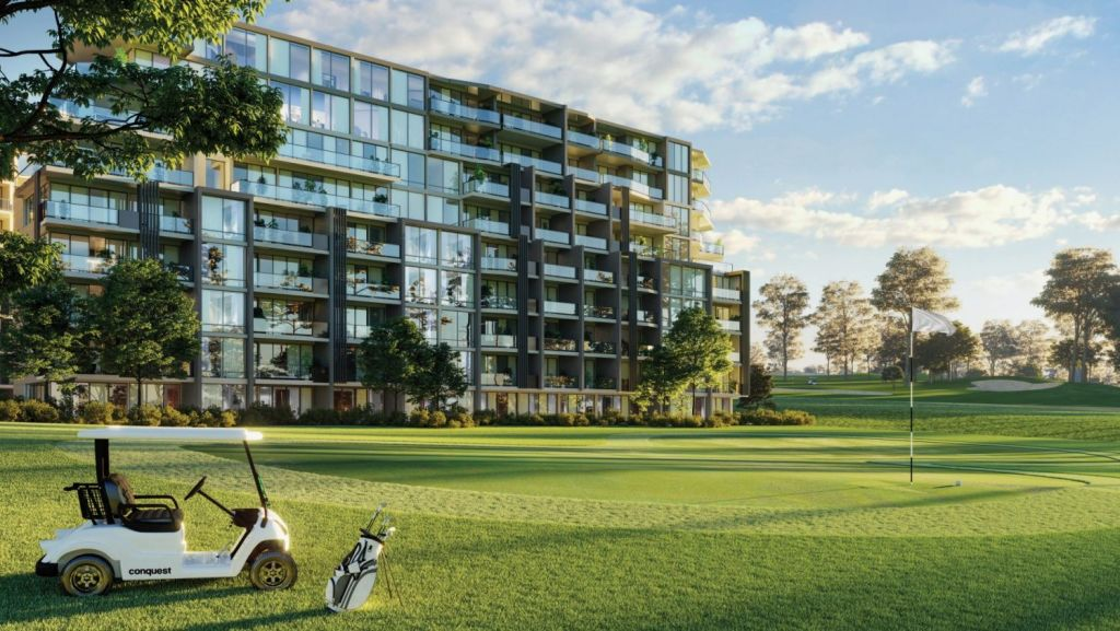 Nearly 180 apartments are coming to Strathfield in a project called The Greens. Photo: Artist's impression