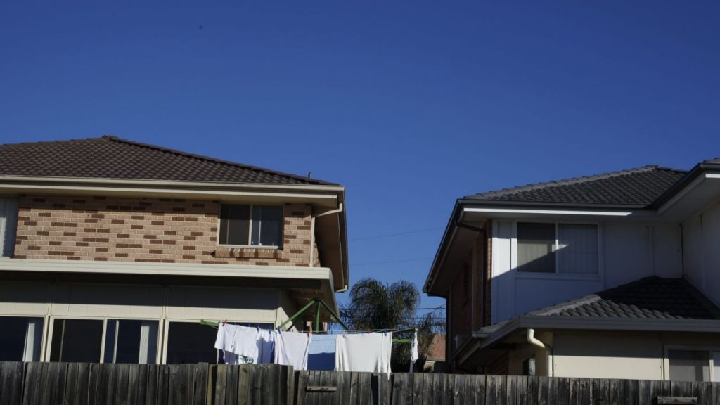 Households in many cities require huge salaries to buy a median-priced home. Photo: Michele Mossop