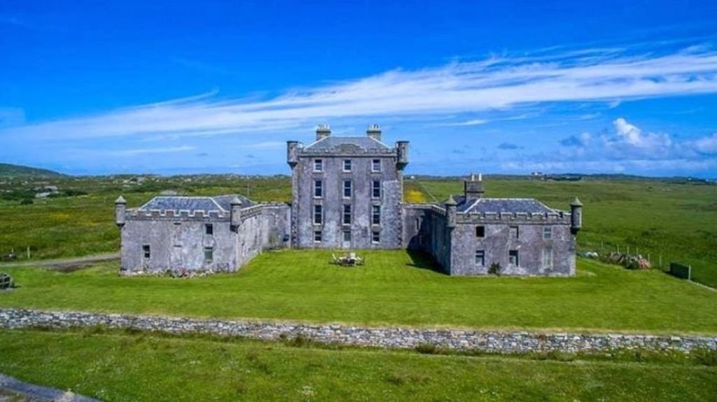 Breachacha Castle in Scotland could be all yours for less than the cost of a Sydney home. Photo: Savills