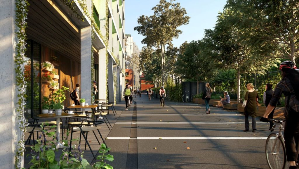 Neometro have added more three-bedroom apartments to their Jewell station development in Brunswick. Photo: Neometro