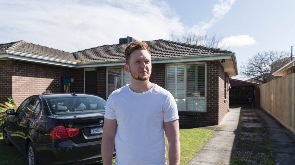First-home buyer Jayk Gunton received a $30,000 stamp duty concession when he bought in  September. Photo: Supplied