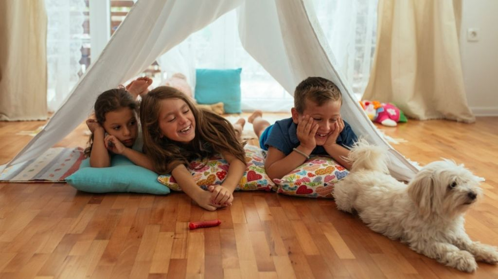 The question of whether siblings should share a room is a popular topic for debate among parents. Photo: Dejan Ristovski