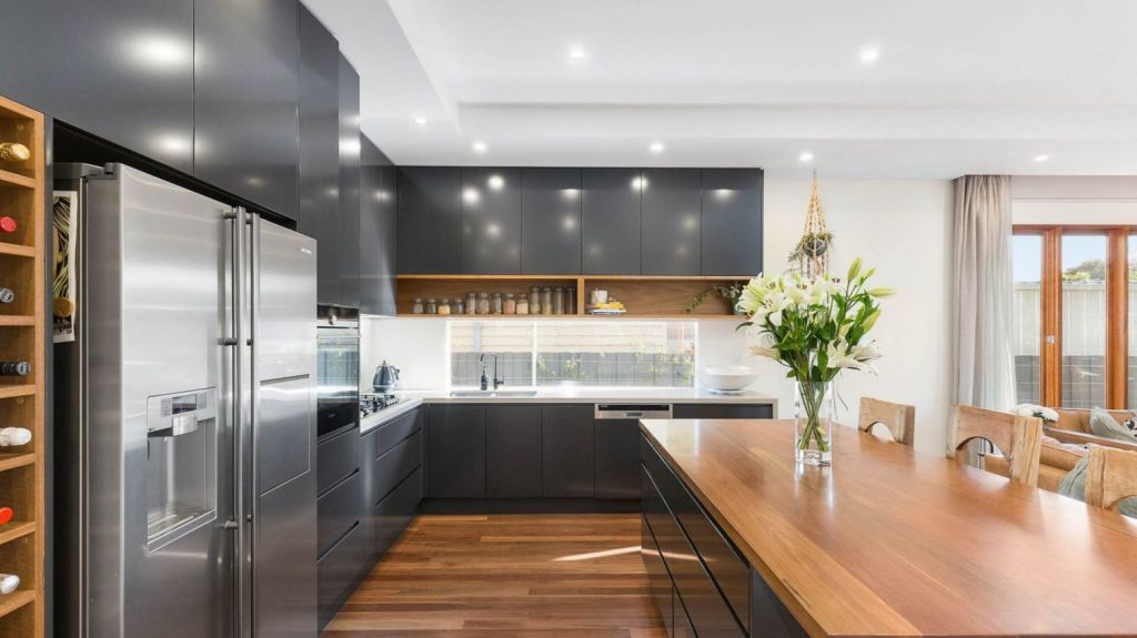 The couple wanted to inject their personality into the house. Photo: Hocking Stuart