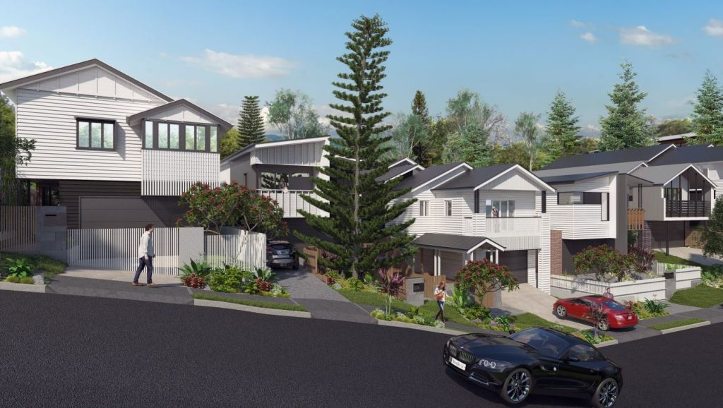 Croydon Road, Paddington will become the lifstyle precinct called the Norfolk Estate. Photo: Supplied
