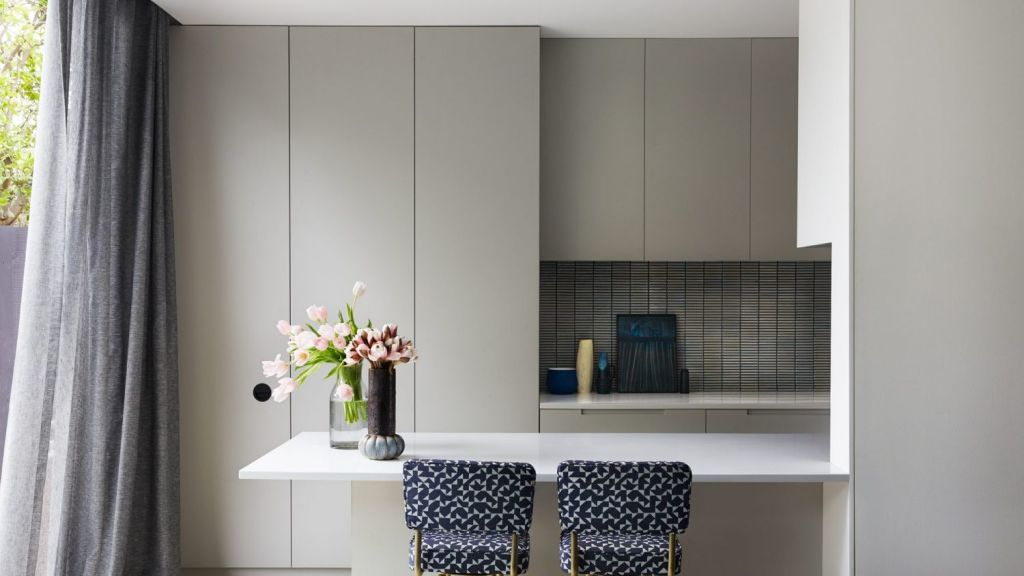 Stone neutrals are a good way to add depth to a room. Photo: Fiona Storey - Haymes Paint
