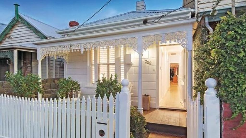 Bricks in this renovated freestanding terrace at Port Melbourne cost $157 each.