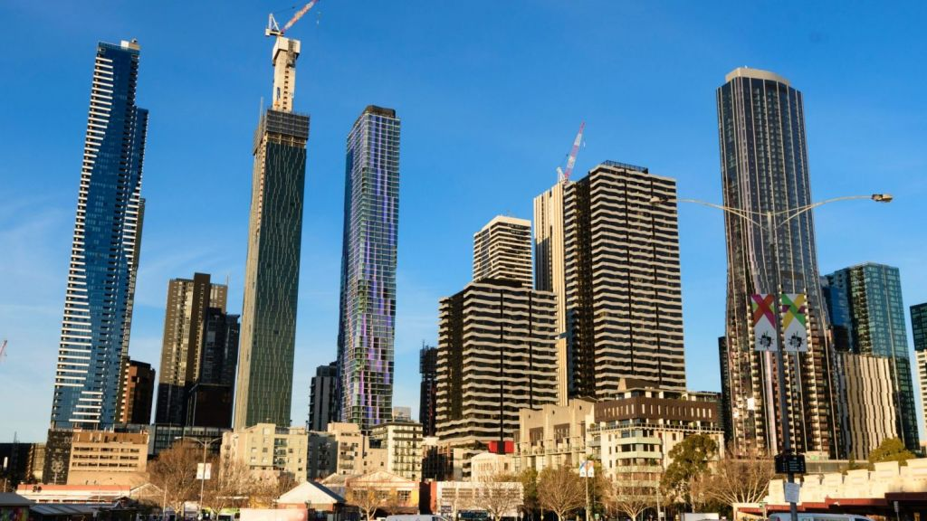 There are now nearly 30,000 units in downtown Melbourne. Photo: Vince Caligiuri