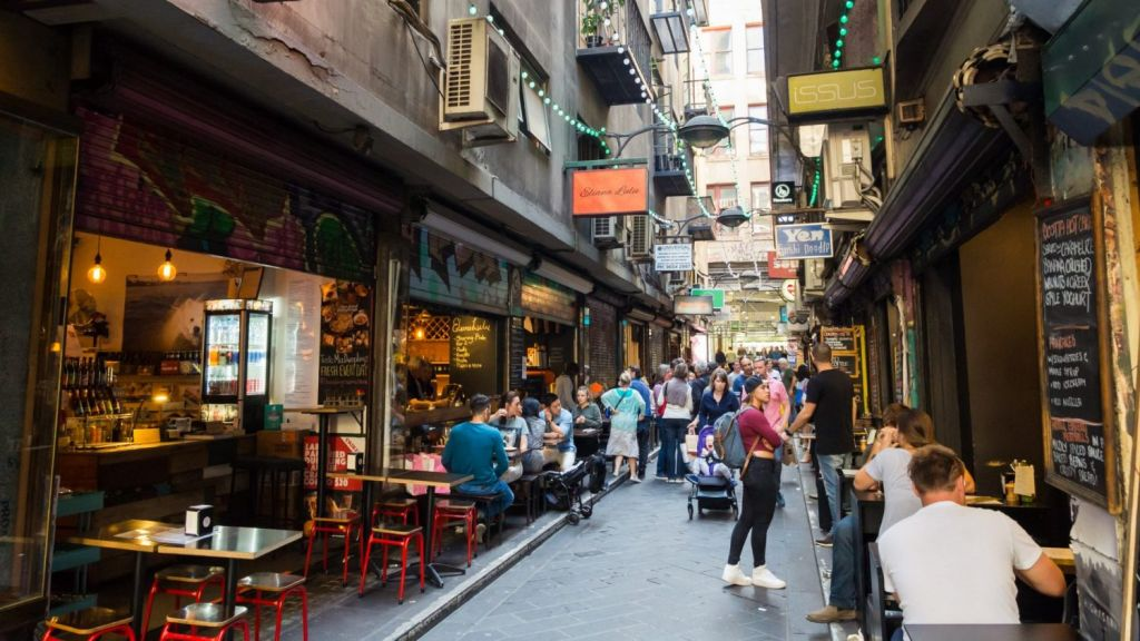 Melbourne's laneways attract tourists and locals in droves. Photo: Shutterstock