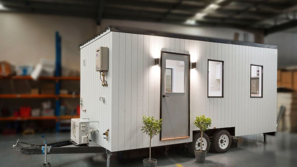 'The High Country' model retails at $59,000. Photo: Tiny Homes Australia