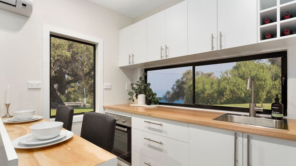 Tiny houses are rented on AirBnb for $200 a night. Photo: Tiny Homes Australia