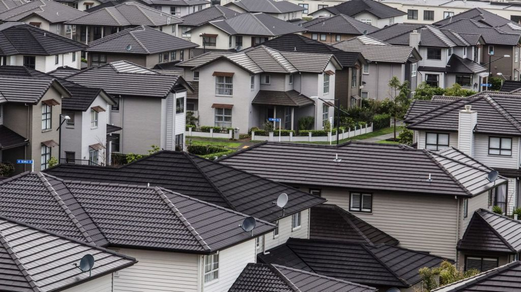 Auckland is considered one of the least affordable cities in the world to buy a house. Photo: Bloomberg