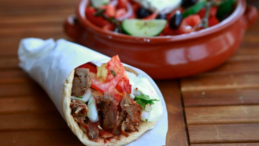 The New York Times food editor raved about Kalimera Souvlaki Art's pork gyro. Photo: Eddie Jim EJZ