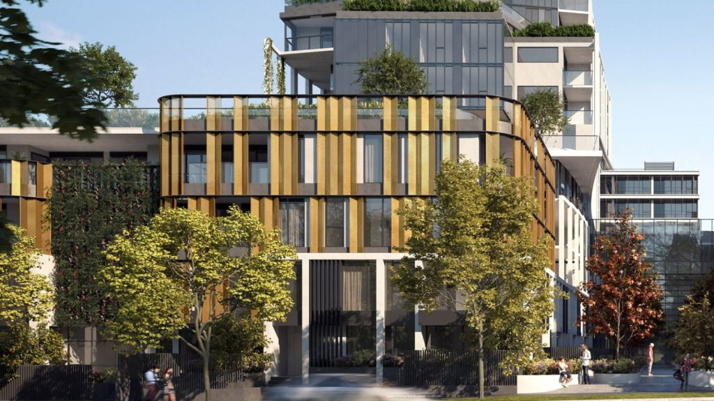 Oros is set to bring hundreds of new luxury apartments and townhouses to the area. Photo: Oros