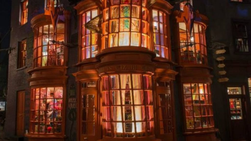 From Ollivanders wand shop to Flourish and Blotts bookshop, this Harry Potter replica has everything. Photo: Supplied