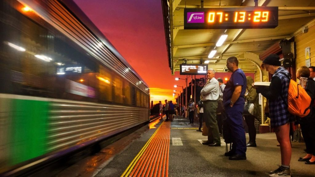 Mapmaker Adam Mattinson said Victoria's railway network could have looked very different. Photo: Paul Rovere