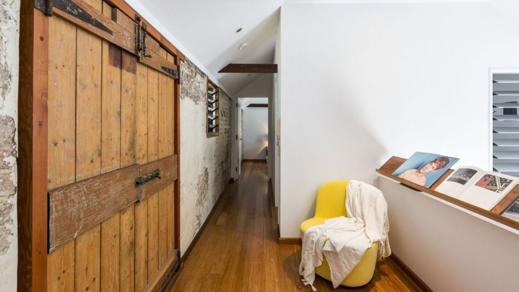 The two-bedroom home was a conversion of a former stable house built in about 1850. Photo: Supplied.