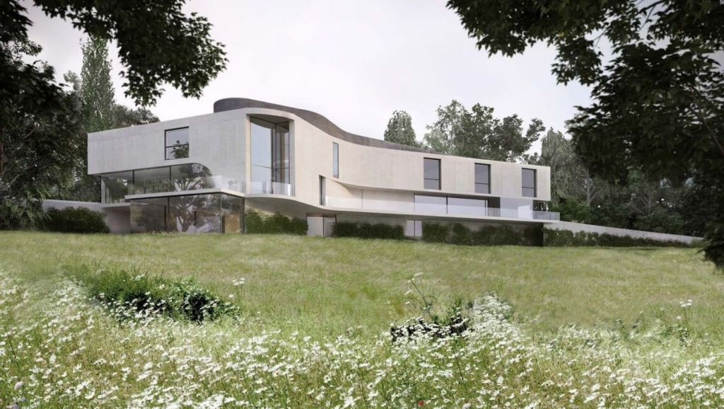 Concrete House by UK firm Burrell & Mistry. Photo: Supplied