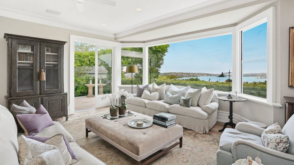 The five-bedroom residence has been extensively renovated since it last traded in 2006 for $11 million. Photo: supplied