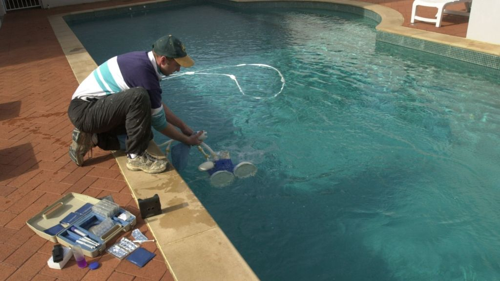 Many pool owners are sick of pouring money, time and effort into maintaining and cleaning, only to have it sit idle over the warmer months. Photo: Richard Briggs
