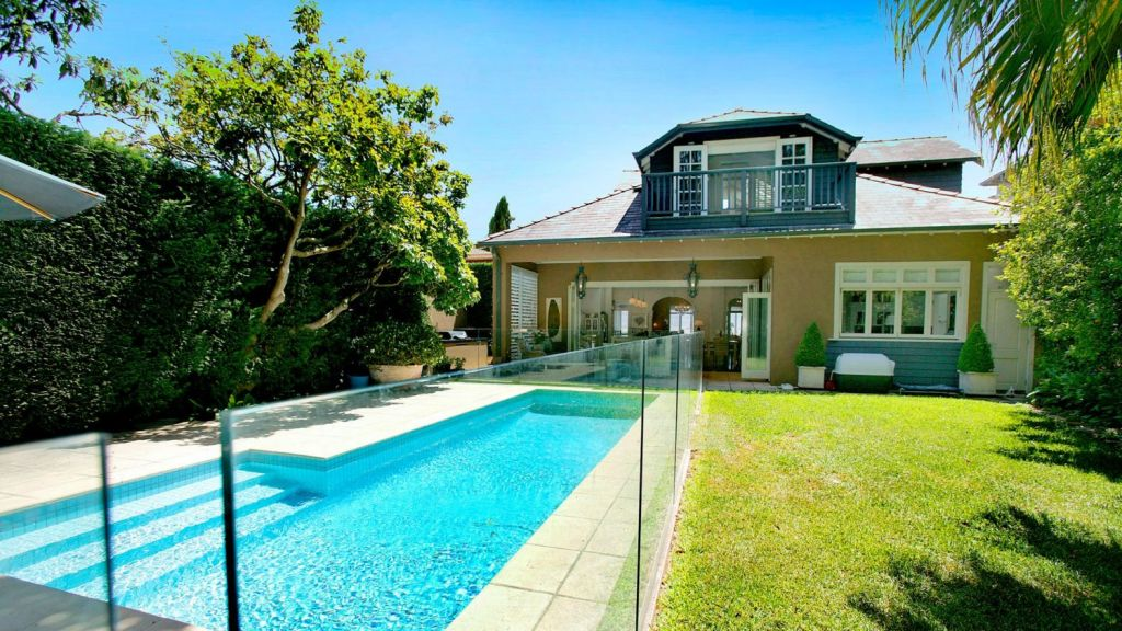 Alistair and Kate Champion bought the Bellevue Hill house in 2013 for $5.4 million. Photo: Domain.com.au