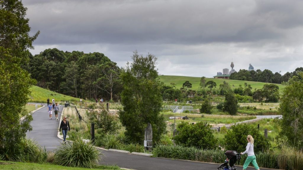 The state government's draft policy points to Sydney Park as an exemplar green space. Photo: Dallas Kilponen