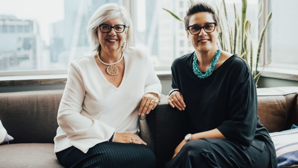 Build in Common co-founders Justine Teggelove and Pia Turcinov. Photo: Supplied