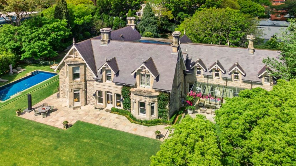 The Victorian Rustic Gothic mansion known as Rona still hasn't sold. Photo: Supplied