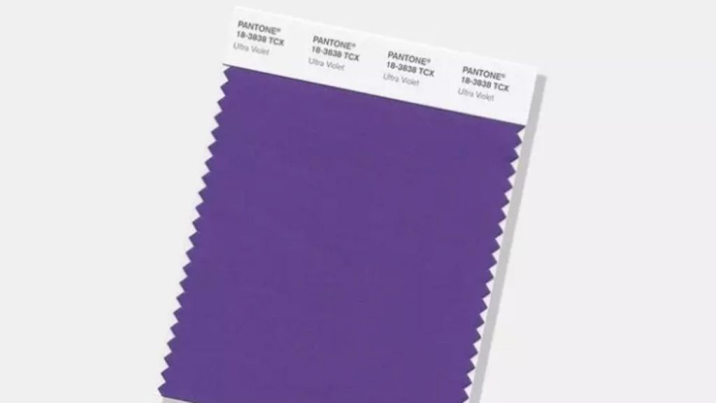 Ultra Violet is the 2018 colour of the year. Photo: Pantone