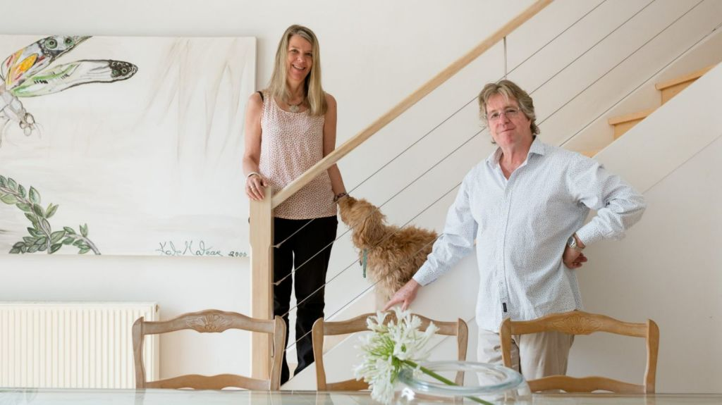 Kate and David Stephenson followed their agent's advice to go to auction. Photo: Greg Briggs