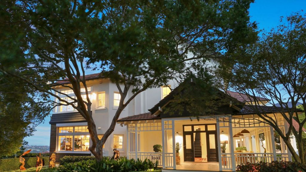 ASX chief Dominic Stevens upgraded to this Bellevue Hill residence, Belhaven, for more than $21 million.