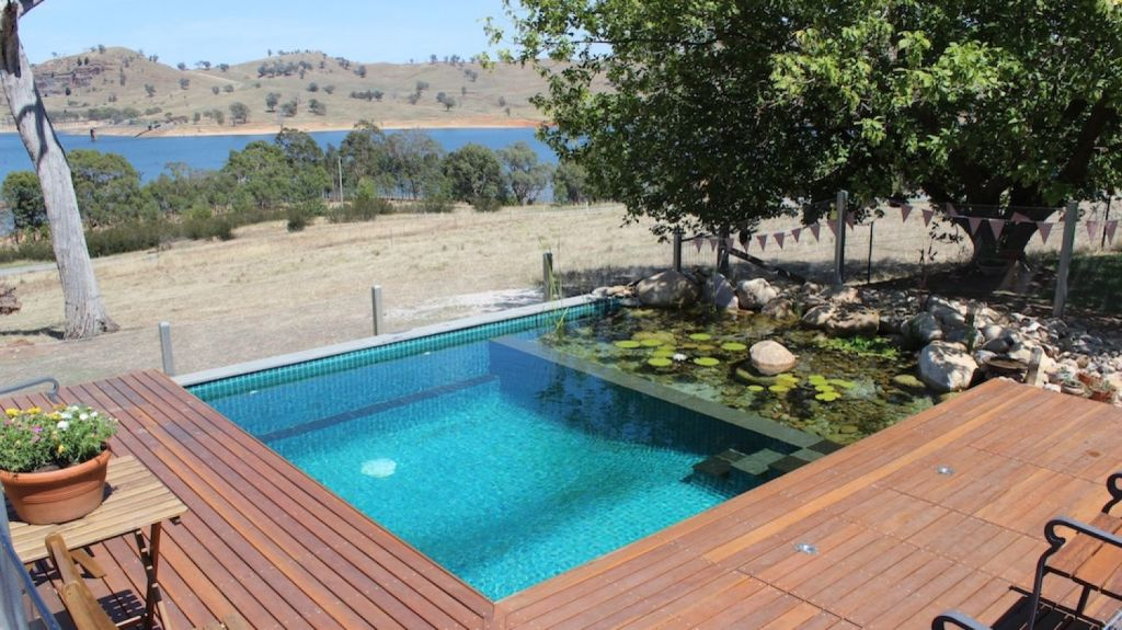 Natural pools are also much more energy efficient. Photo: Wayne Zwar / Natural Swim Pools