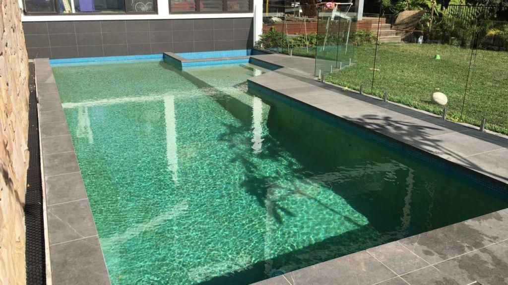 A natural pool can look just like a traditional swimming pool. Photo: Wayne Zwar / Natural Swim Pools