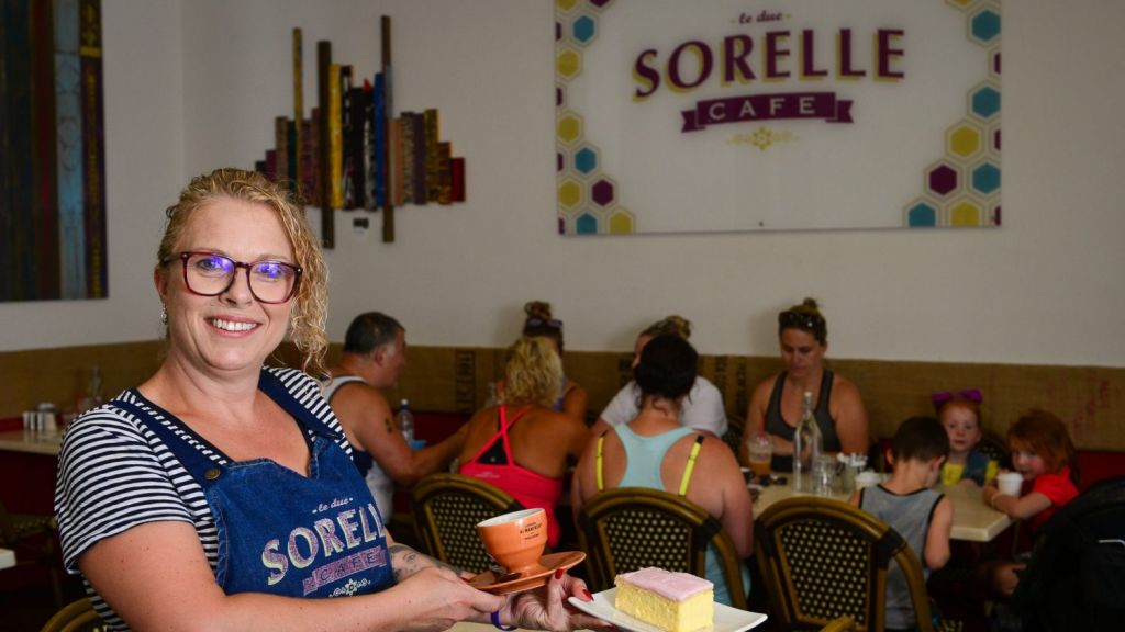 Le Due Sorelle cafe owner Jo Riccardi has lived in Bannockburn for more than three decades. Photo: Reg Ryan
