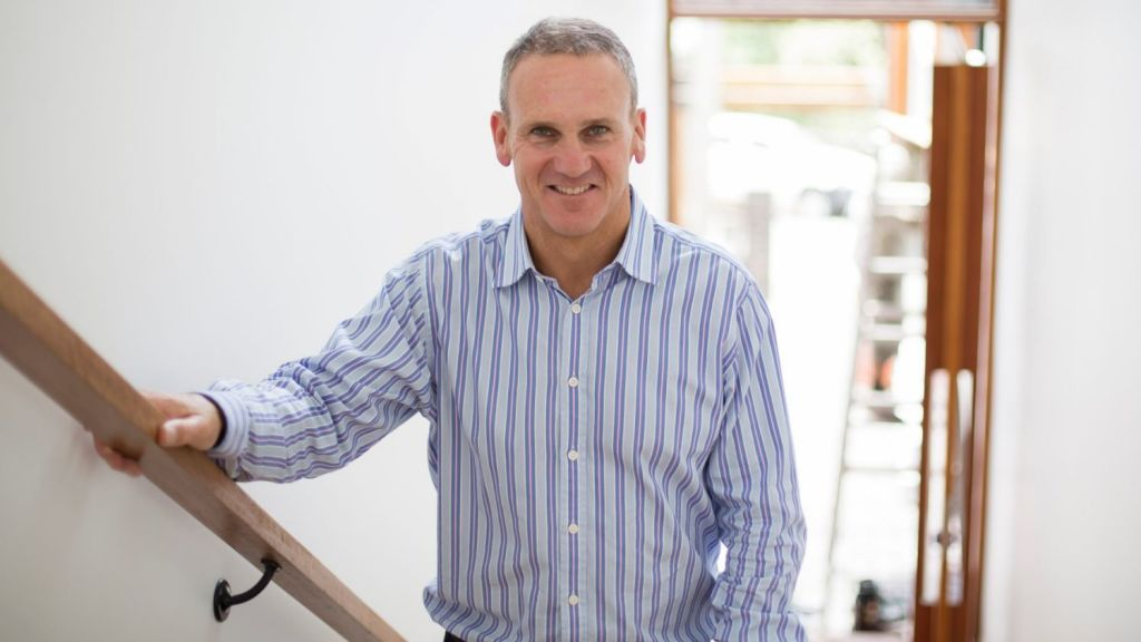 Place agent Simon Wheelans said it was a pleasure to sell a new build. Photo: Tammy Law