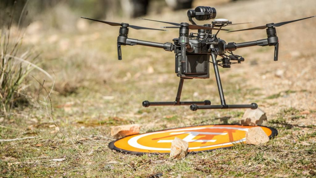 Drones will be commonplace in the future for deliveries and transportation. Photo: Karleen Minney