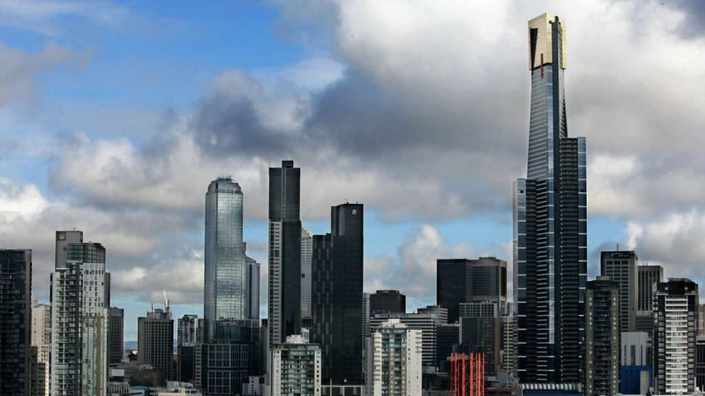 Melbourne'scentral city will have 6,000 new apartments next year. Photo: Rebecca Hallas