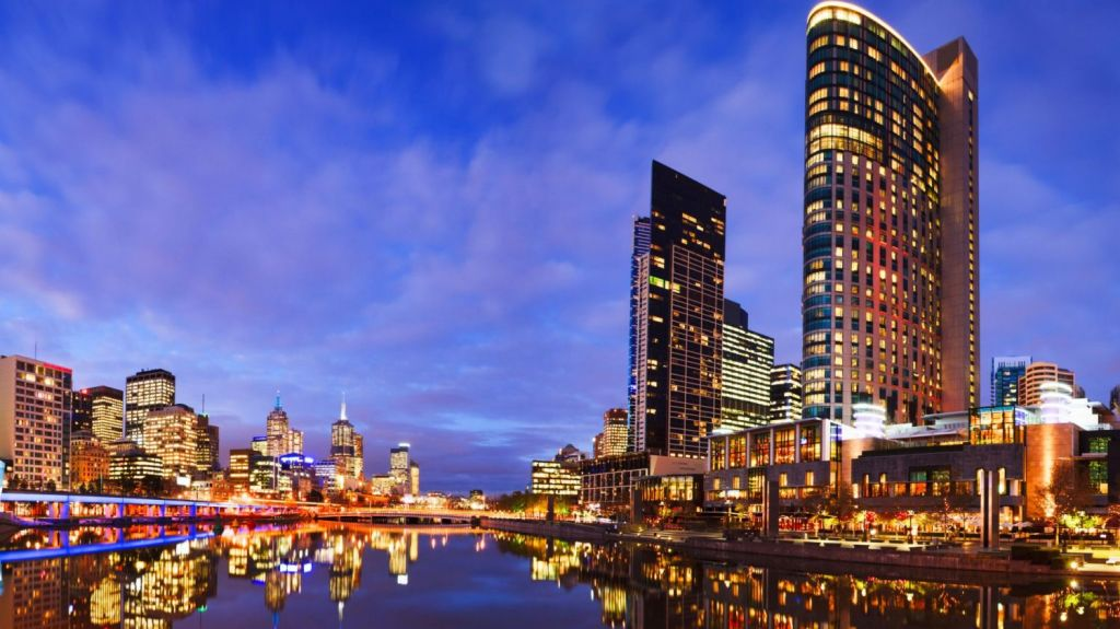 Melbourne CBD has the highest proportion of singles of all suburbs in the metro area. Photo: travellinglight / Alamy Stock Photo