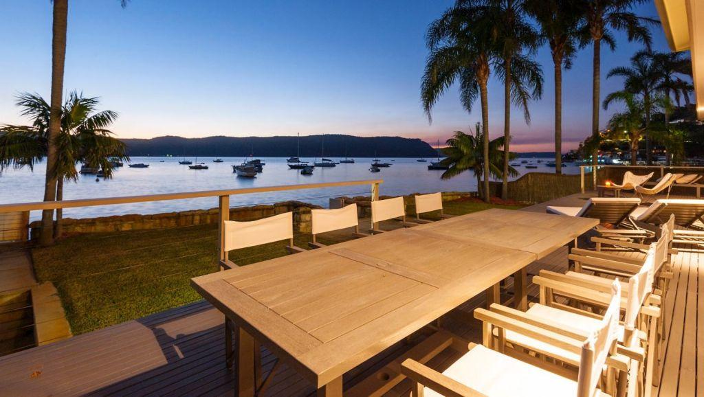 Venture capitalist Bob Blann is best known for his vast beachfront home at Palm Beach.