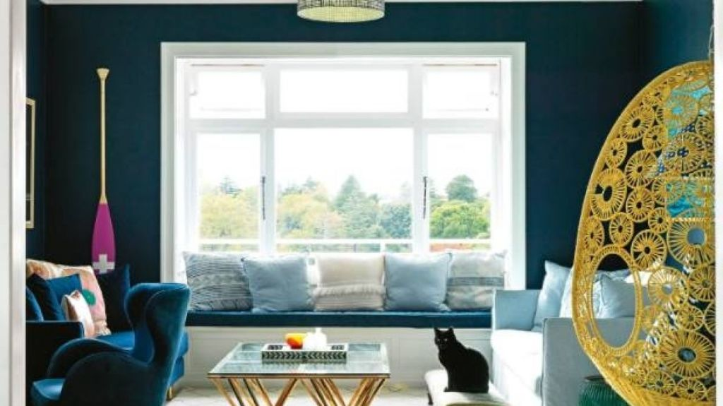 Make the most of winter weather by giving a room a fresh coat of paint. Photo: Jane Ussher