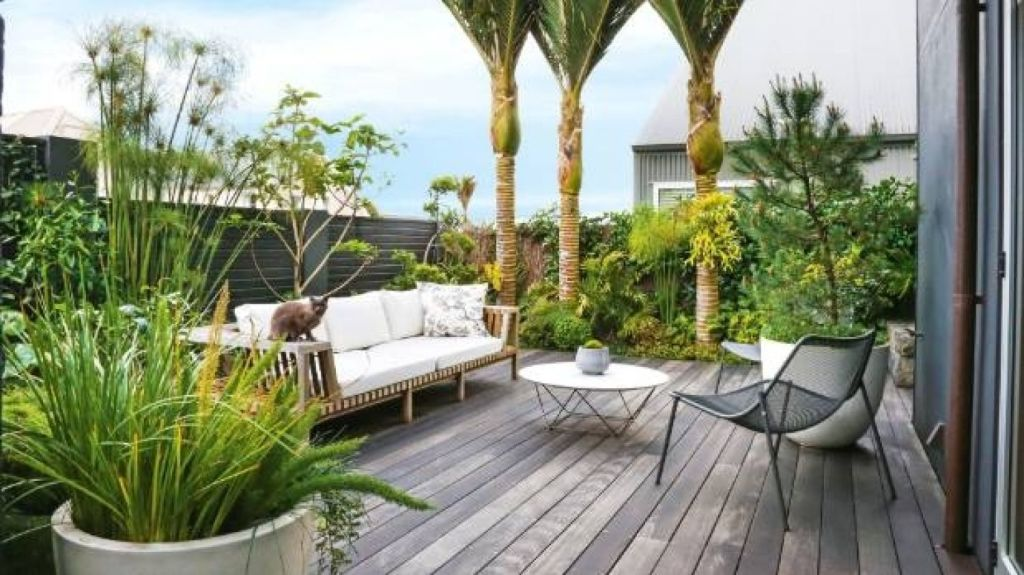 Now's the time to make minor exterior repairs to decking or fencing. Photo: Emma Bass / NZ Gardener