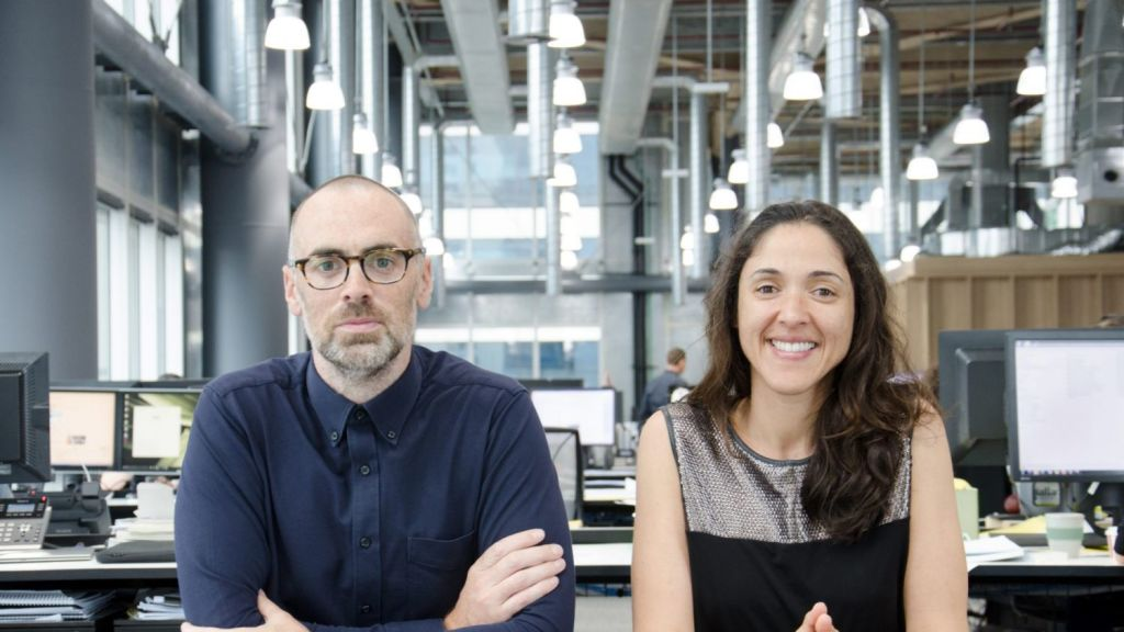 Niall Durney and Sandra Furtado of Crone Architects. Photo: Supplied.