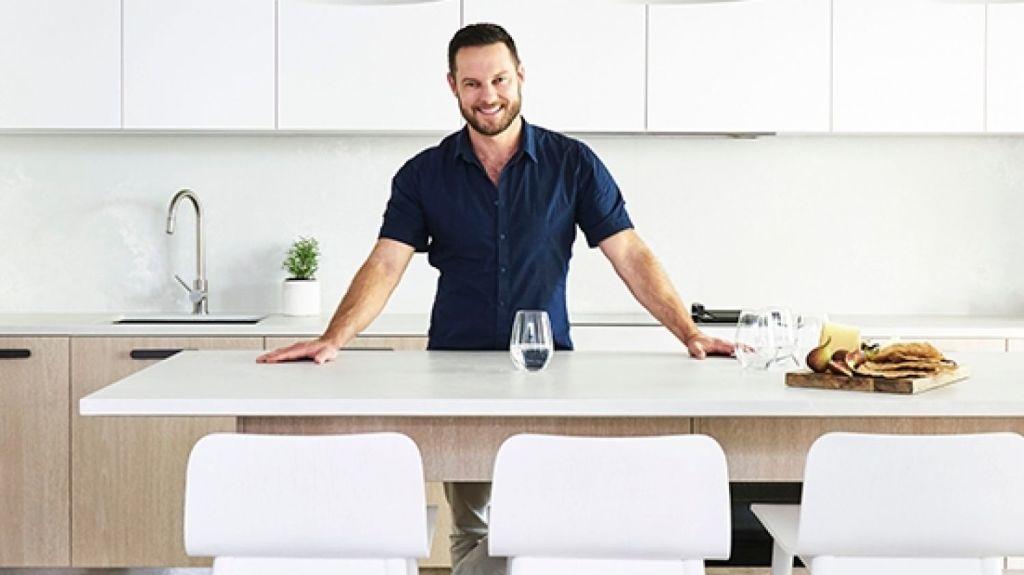Darren Palmer's kitchen made by Freedom Kitchens Photo: John Paul Urizar