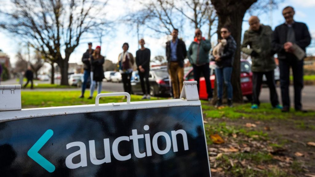In 2016, 11.1 per cent of reported auctions sold prior, this rose to 12.5 per cent in 2017. Photo: Chris Hopkins