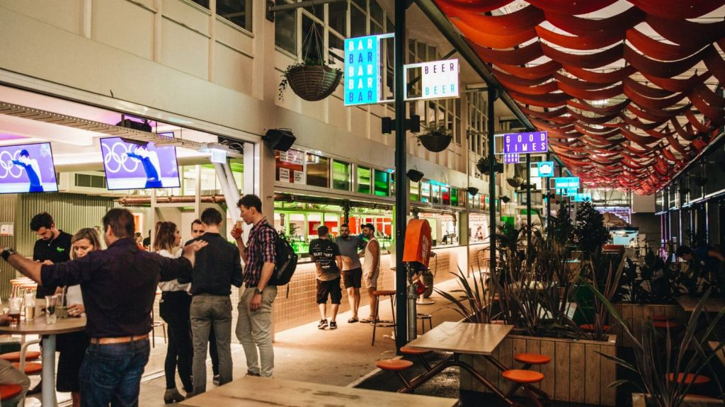 Welcome to Bowen Hills food truck stop. Photo: Supplied
