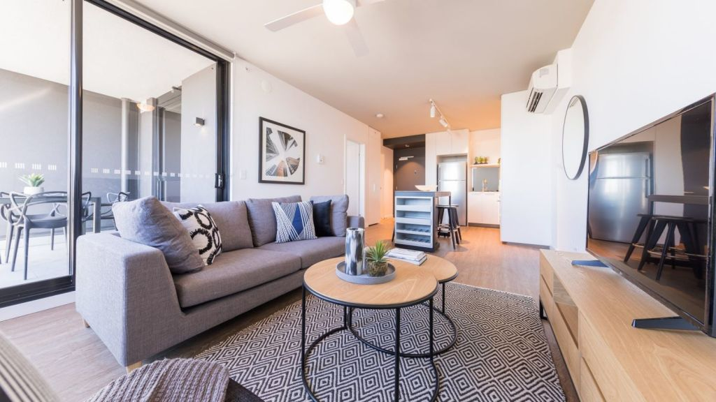 The Yards comprises 401 one and two-bedroom apartments. Photo: Jared Vethaak