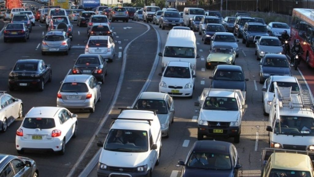 Sydney's 'motorway madness' came under fire at a forum for planning and health experts this week. Photo: 3AW