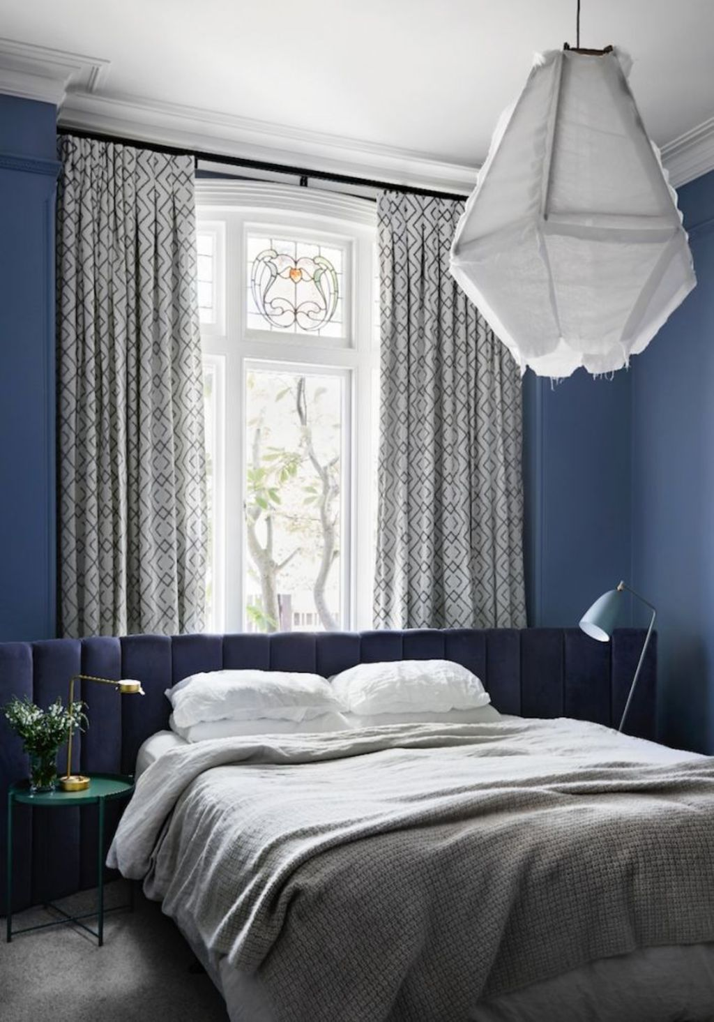 Stuck for inspiration? One item can inspire the look of an entire room. Bedroom by Sisalla Interior Design. Photo: Tess Kelly